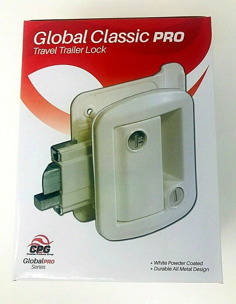 Rv Camper Trailer Global Exterior Entry Door Lock