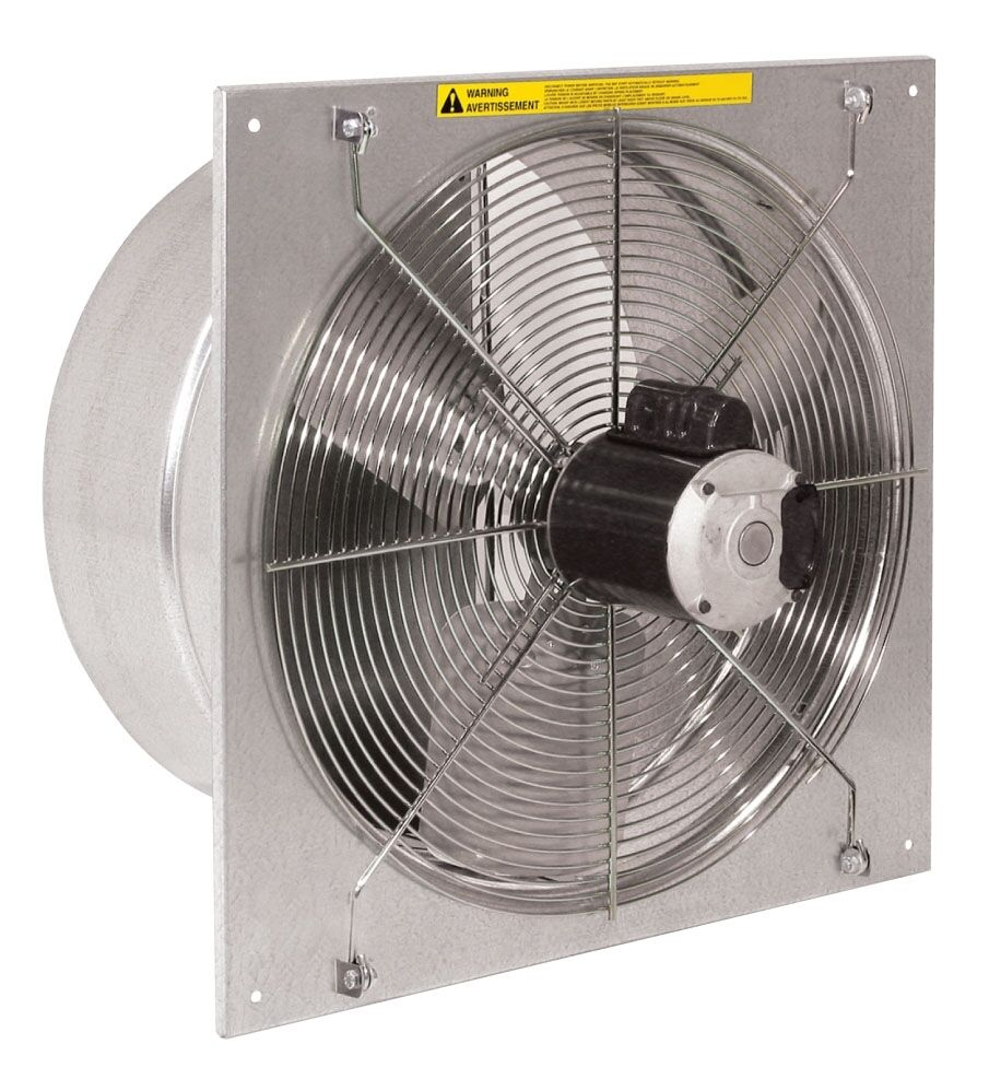 """12"""" Twister Exhaust Fan For Greenhouses, Farms, Garage"""