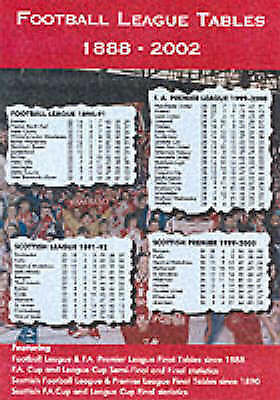Football league tables 1888 2002 good 1862230595 for Football league tables