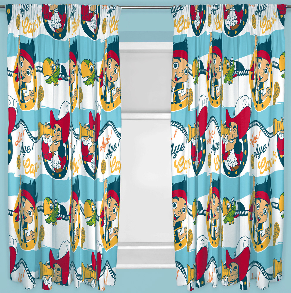 Jake And The Neverland Pirates Curtains Jake and the Neverland Pirat