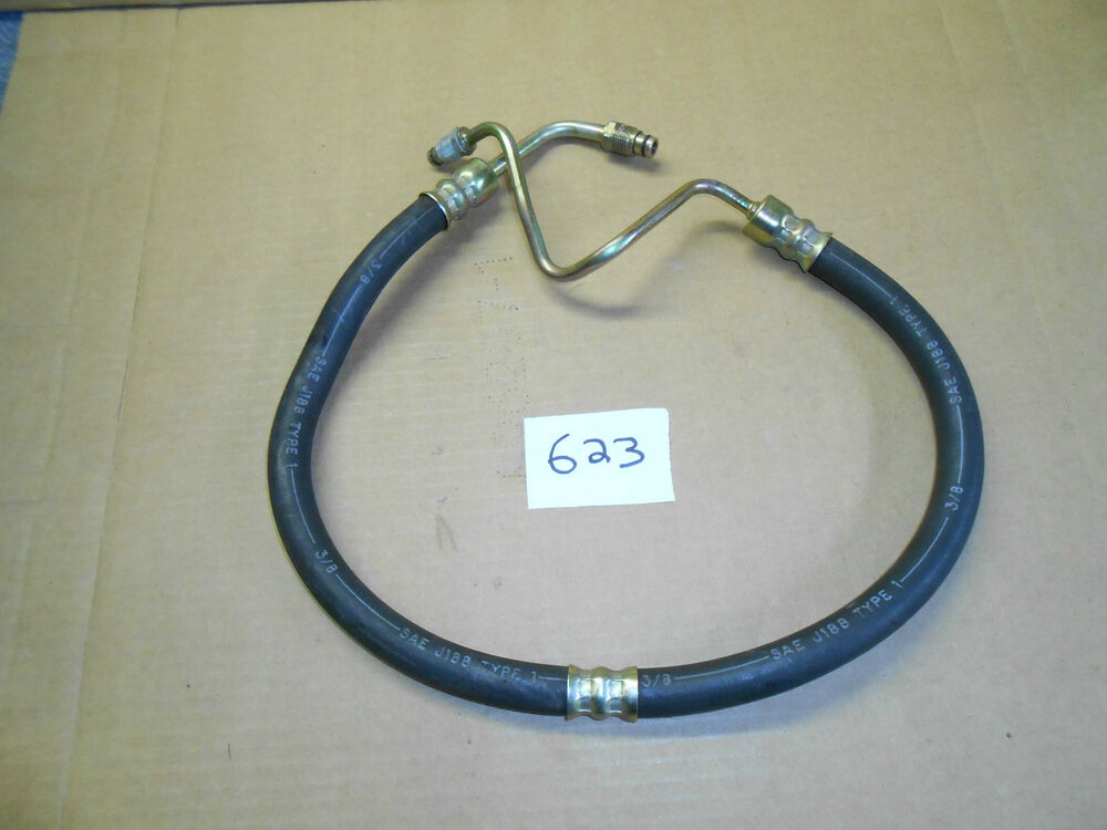 1979 1980 1981 Ford Mustang Power Steering Pressure Hose