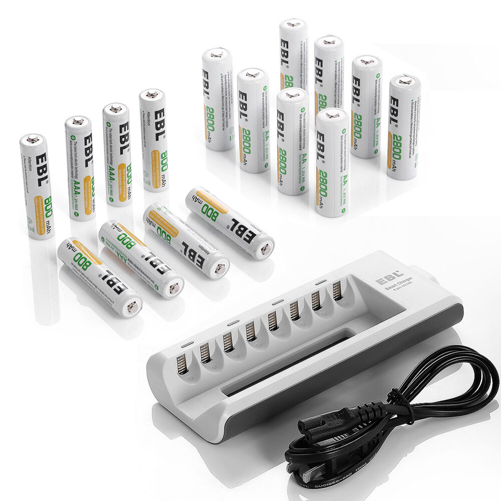 8 slot battery charger 8 aa batteries 8 aaa. Black Bedroom Furniture Sets. Home Design Ideas
