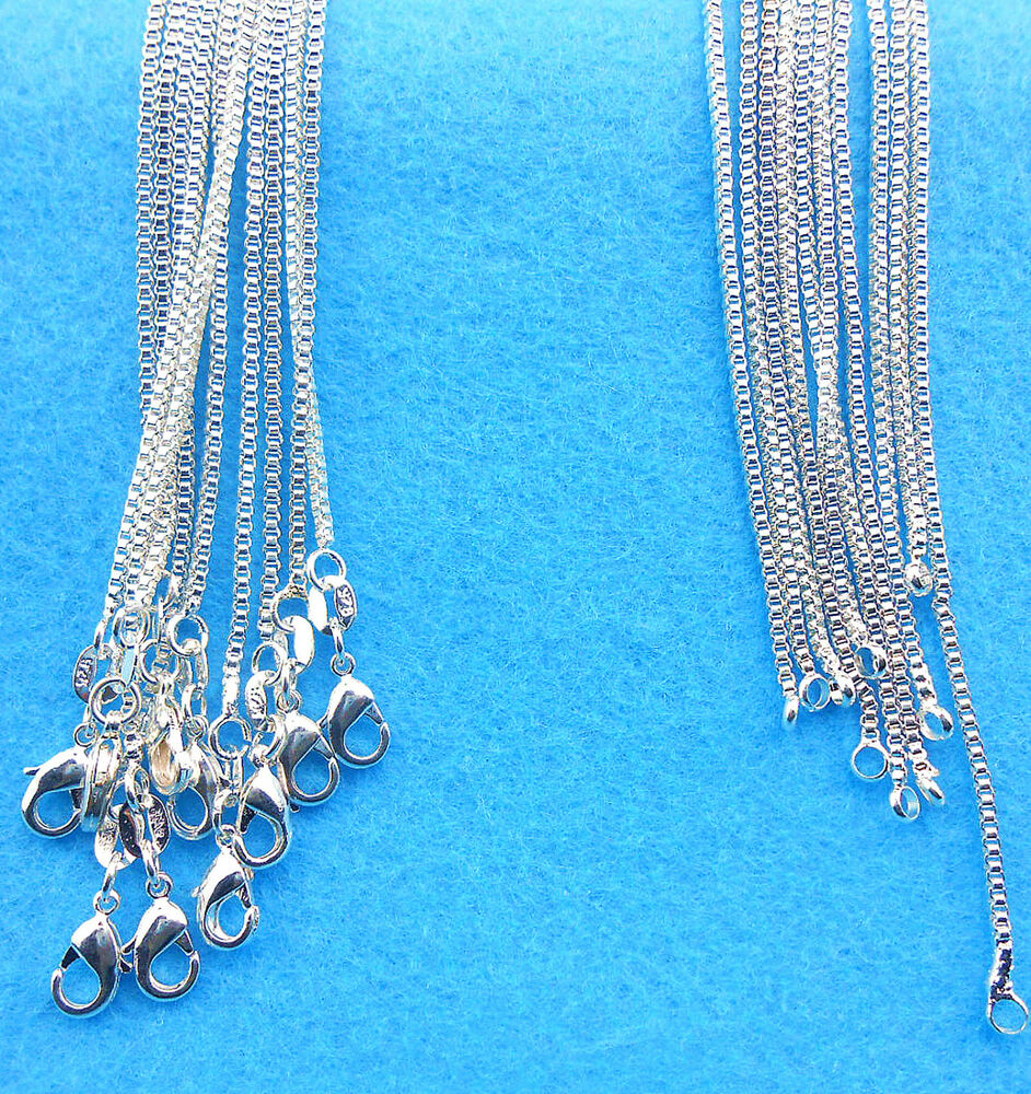 Wholesale 10pcs Fashion Jewelry 925 Sterling Silver Plated