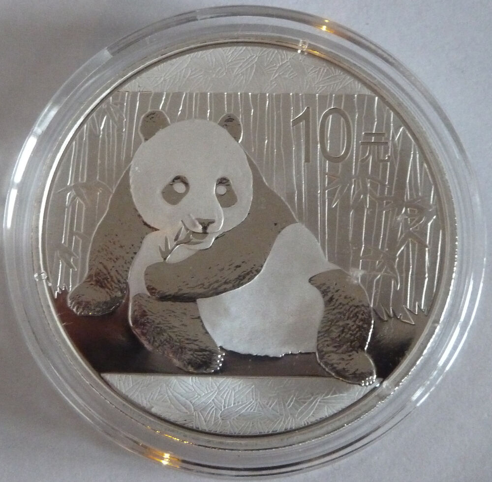 2015 Silver Chinese China Panda 1oz 999 Silver Bullion