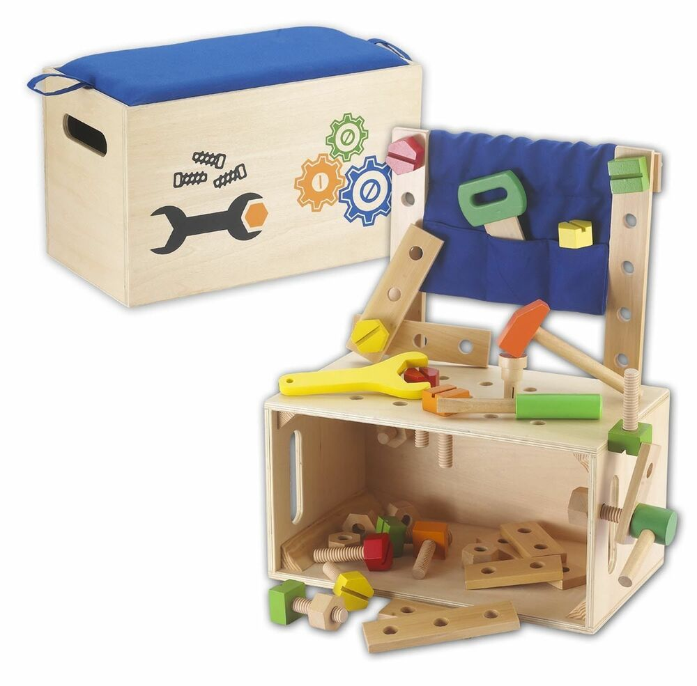 Kids Toy Work Bench Tool Bench Tool Box Tool From Wood