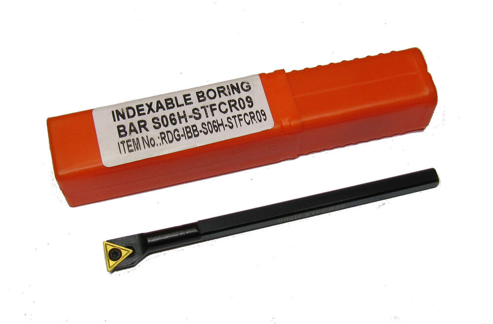 Micro Carbide Indexable Boring Bars : Rdg tools indexable lathe boring bar mm shank tcmt