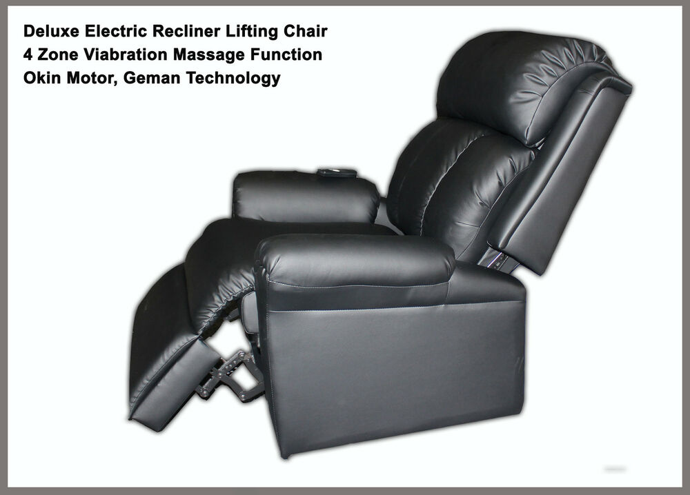 Deluxe Electric Recliner Lift Chair With Massage Function