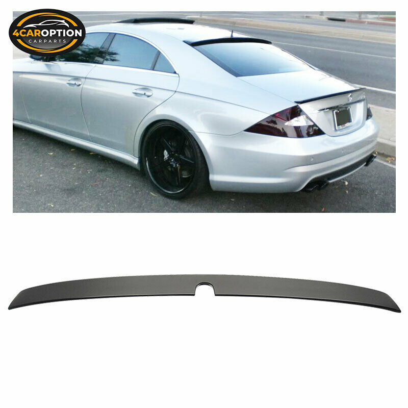 2009 Mercedes Benz Cl Class Exterior: 05-10 Mercedes Benz CLS Class W219 Rear Roof Spoiler Wing