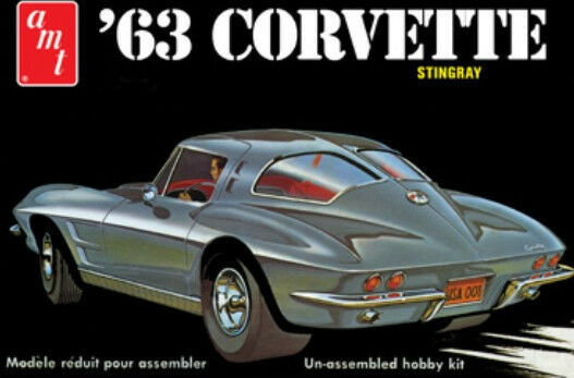 AMT 125 63 Chevy Corvette StingRay Street Or Strip