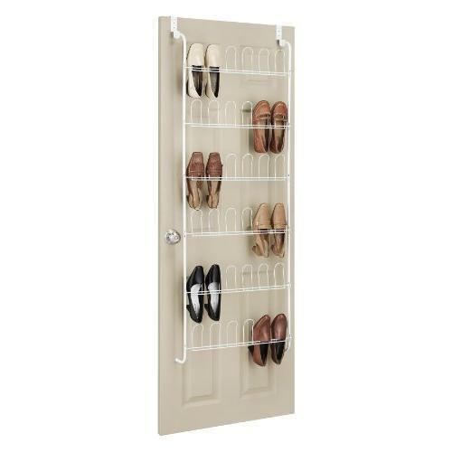 whitmor over the door shoe rack new ebay. Black Bedroom Furniture Sets. Home Design Ideas