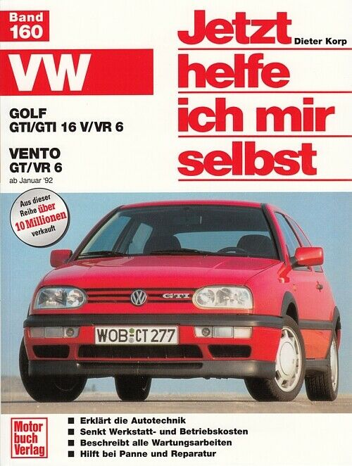 vw golf 3 gti vr6 reparaturanleitung jetzt helfe ich mir selbst handbuch wartung ebay. Black Bedroom Furniture Sets. Home Design Ideas