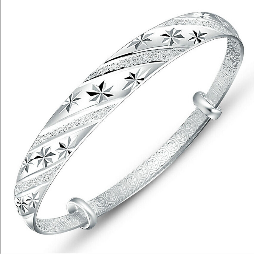 Fashion Jewelry Women 925 Sterling Silver Plated