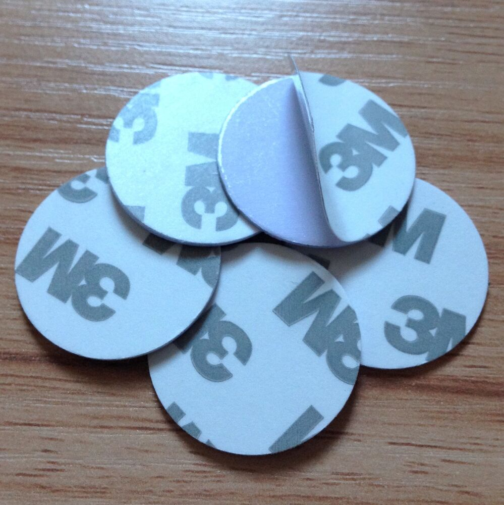 NFC Tag PVC Waterpoor 3M Adhesive Label NTAG203 Smart Type