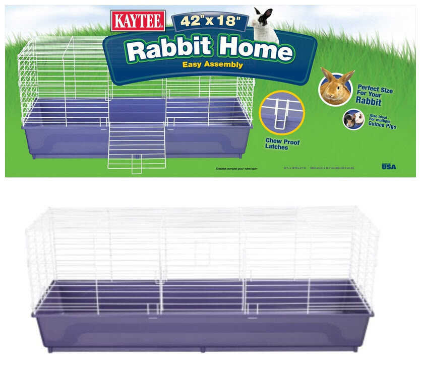 Kaytee my first home 42 x 18 x 19 5 extra large rabbit for Extra large rabbit cage