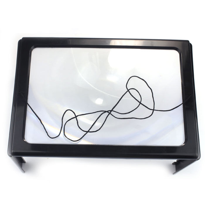 Lighted Table Top Desk Reading Magnifier Magnifying Glass