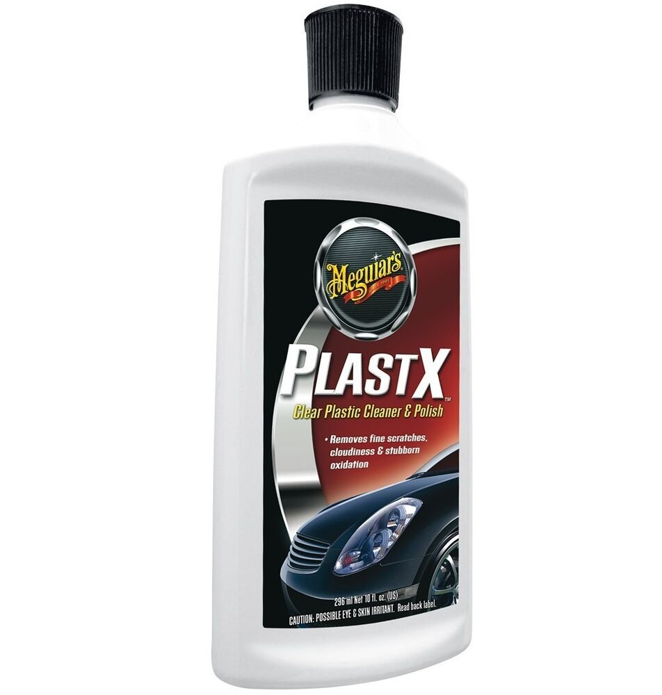 meguiars plast rx plastx plastic cleaner and restorer polish headlight acrylic ebay. Black Bedroom Furniture Sets. Home Design Ideas