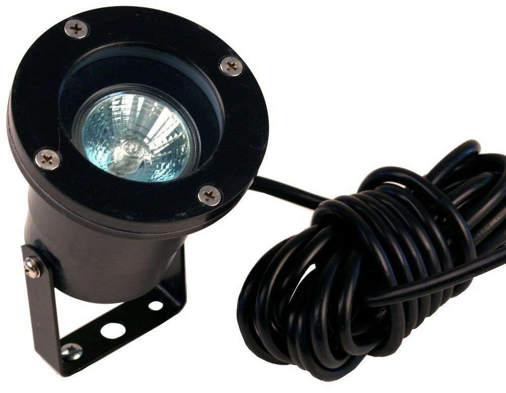 Led 9 watt low voltage landscape lighting underwater pond for Volt landscape lighting