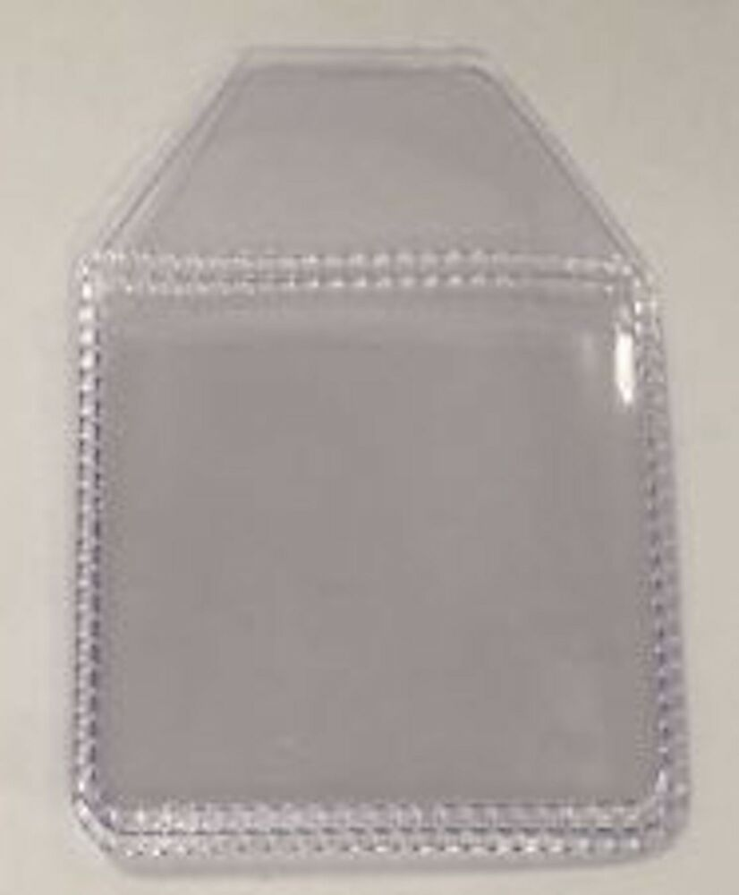 Plastic Clear Coin Holders Wallets 2 X 2 Inch Tuck In