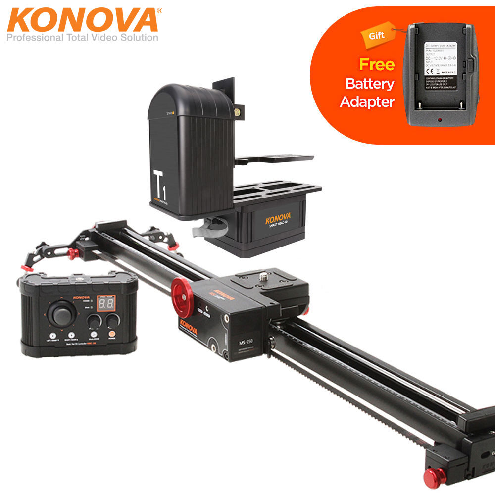 Konova k5 120cm 47 2 motorized camera slider smart Motorized video slider