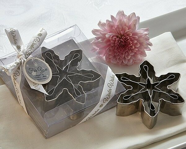 Winter Wishes 3d Snowflake Cookie Cutters Bridal Shower Wedding