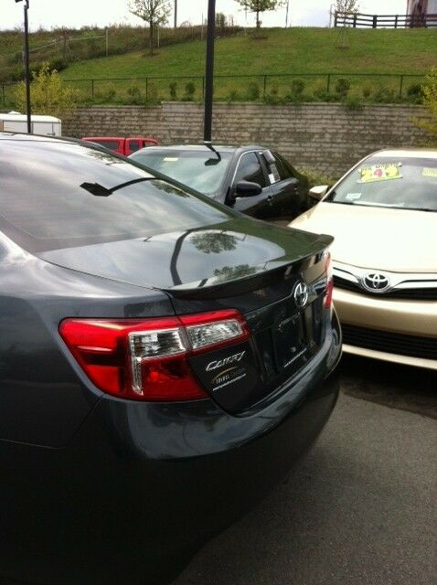 painted 2012 2013 2014 toyota camry factory style spoiler lip spoiler ebay. Black Bedroom Furniture Sets. Home Design Ideas