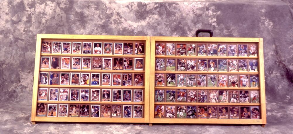 Table Top Card Display Case Trade Show Case 1 2 Full