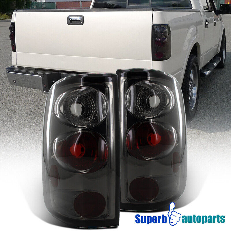 2004 2008 ford f150 styleside altezza tail lights smoke ebay. Black Bedroom Furniture Sets. Home Design Ideas
