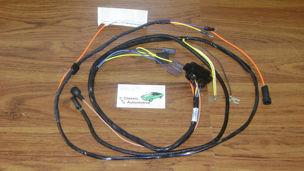 67 camaro wiring harness schematic 67 camaro wire harness engine wiring harness made in usa 67 camaro w/ factory console gauges | ebay