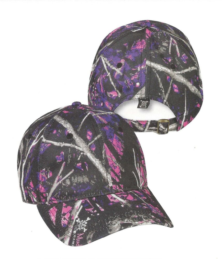Ladies D-Fit Muddy Girl Camouflage Hunting Casual Hat  Ebay-1134