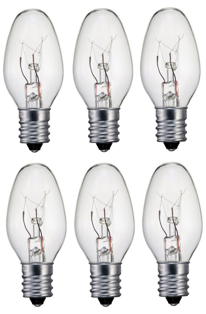 six light bulbs for scentsy wax warmers salt lamps 15 watt. Black Bedroom Furniture Sets. Home Design Ideas