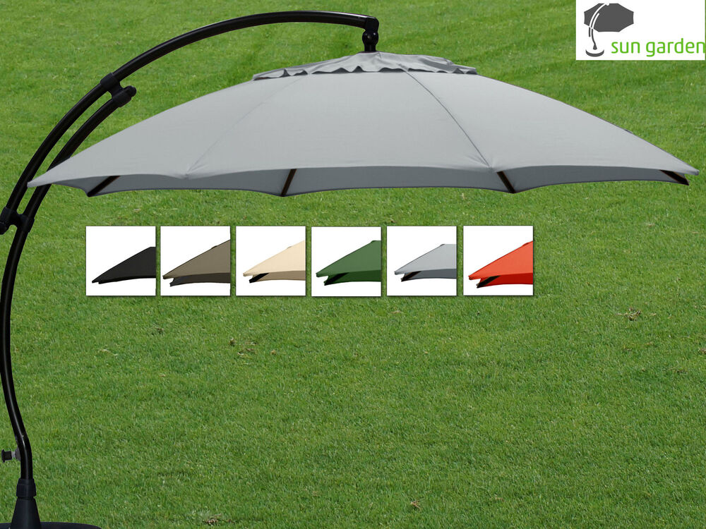 sun garden ampelschirm 350 sun garden easy sun parasol ampelschirm 350 8 sonnenschirm automatik. Black Bedroom Furniture Sets. Home Design Ideas