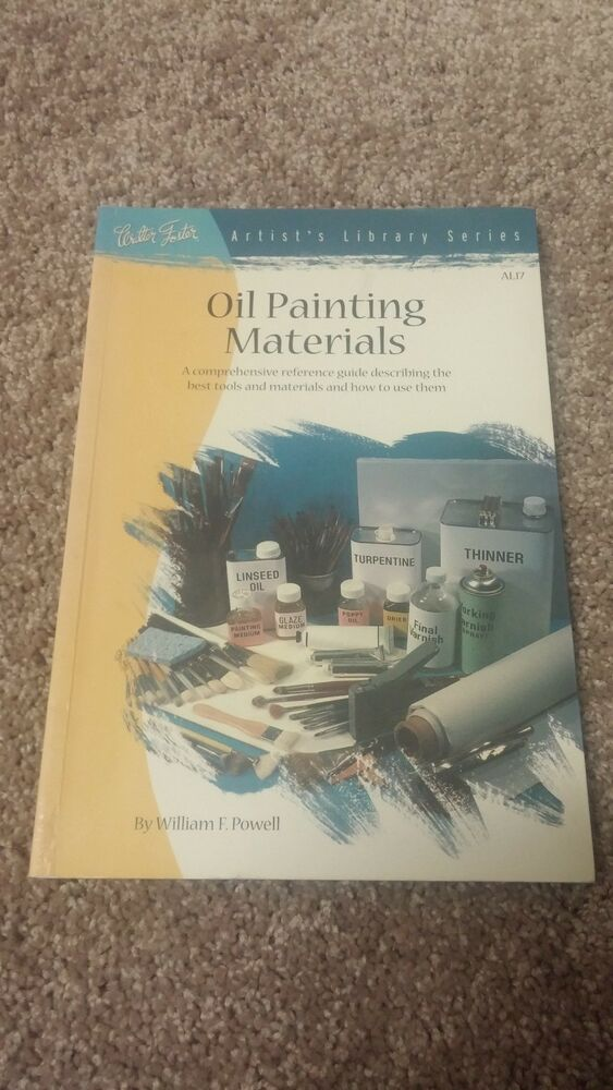 Oil painting materials william f powell ebay for Materials for canvas painting