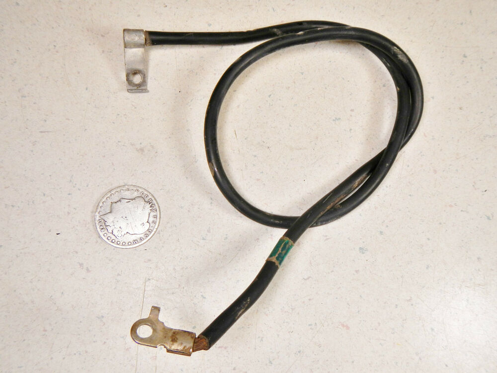 87 honda trx350 4x4 negative battery ground wire cable ebay. Black Bedroom Furniture Sets. Home Design Ideas