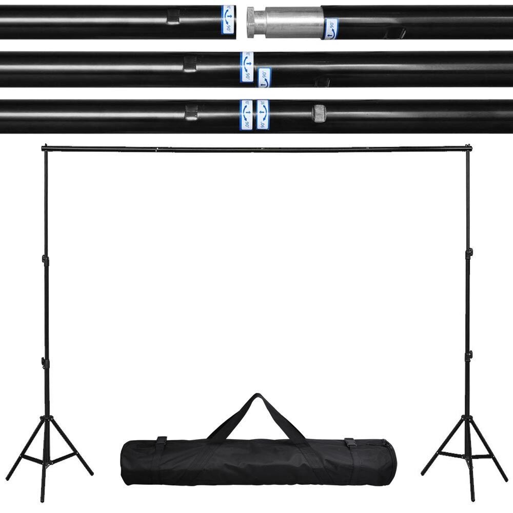 10ft Adjustable Photography Background Support Stand Photo