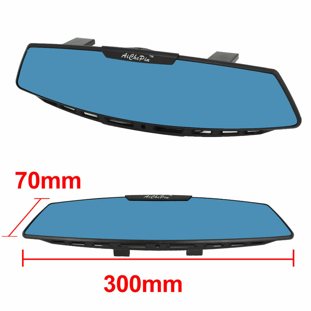 300mm Jdm Wide Curve Clip On Auto Car Interior Rear View