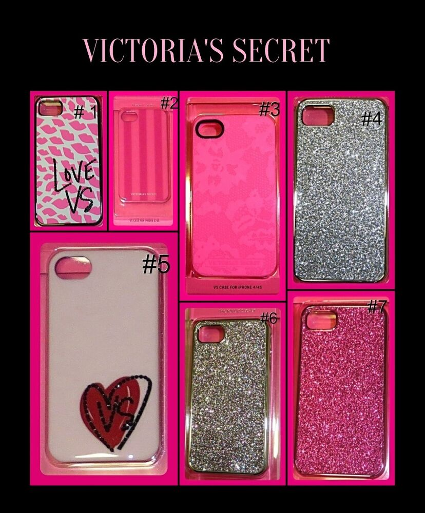 VICTORIAu0026#39;S SECRET CELL PHONE CASE IPHONE 4 / 4S APPLE PINK SPARKLE ...