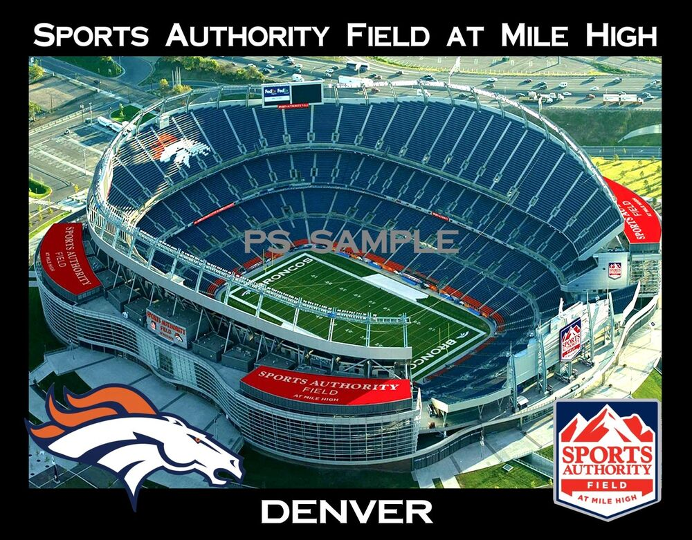 Denver Sports Authority Field At Mile High Broncos