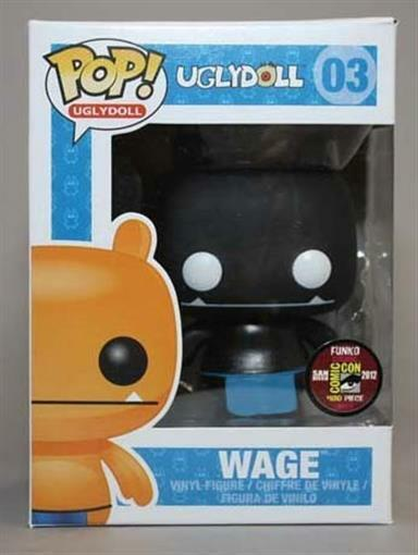 Uglydoll Wage Funko Pop San Diego Comic Con 2012 Exclusive