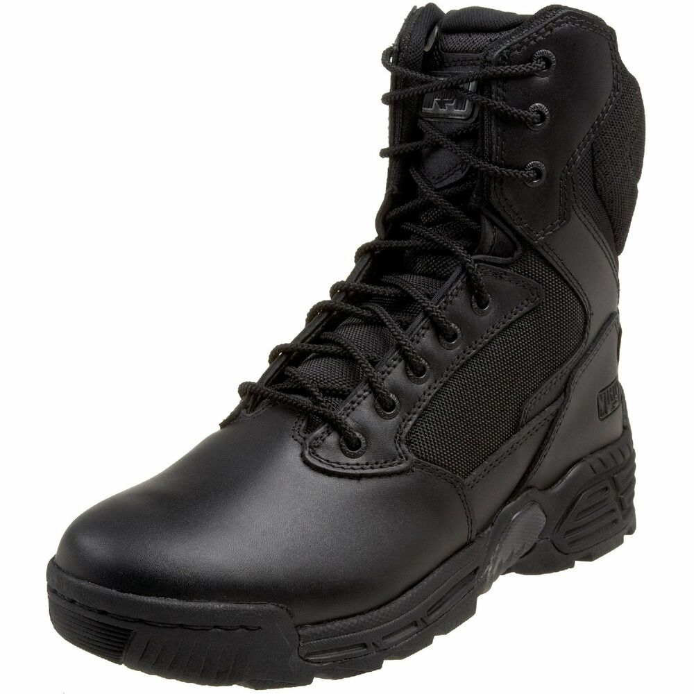 """Magnum Mens 8"""" STEALTH FORCE 8.0 Black Police Army Combat ..."""