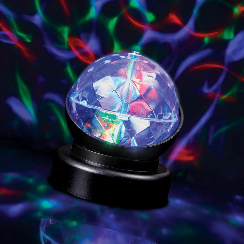 Funky Kaleidoscope Projection Lamp Night Light Disco