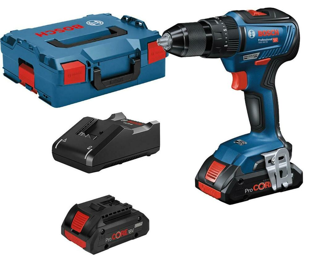 bosch 18v cordless combi drill 2 x 1 5ah lithium ion batteries case gsb18v li ebay. Black Bedroom Furniture Sets. Home Design Ideas