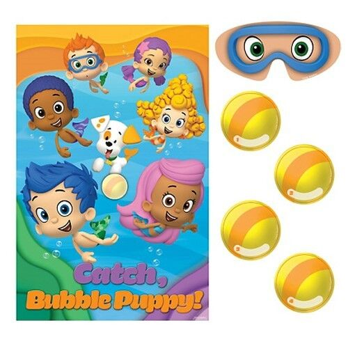 BUBBLE GUPPIES PARTY GAME POSTER