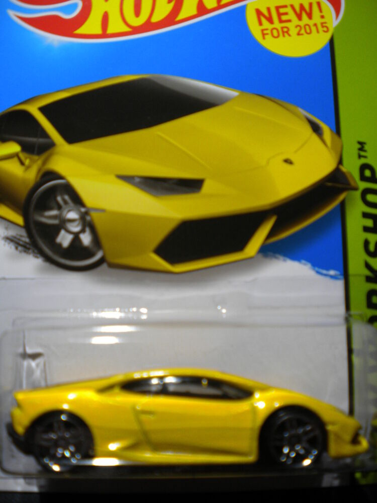 hot wheels hot wheels 2015 lamborghini huracan lp 610 4 new ebay. Black Bedroom Furniture Sets. Home Design Ideas