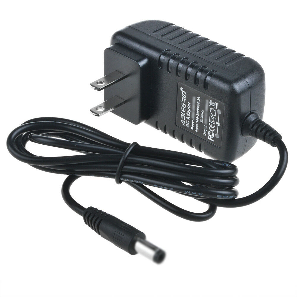 9 Volt Dc Power Supply Ac Wall Adapter 5 5 2 5mm 9v 9vdc