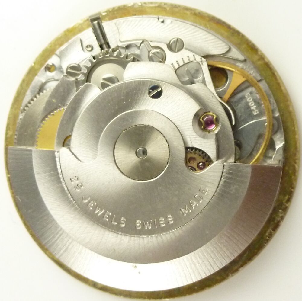Bucherer automatic eta 2662 complete running watch movement sold for parts ebay for Auto movement watches