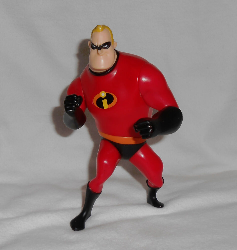 The Incredibles Toys : Mcdonalds disney s the incredibles mr incredible