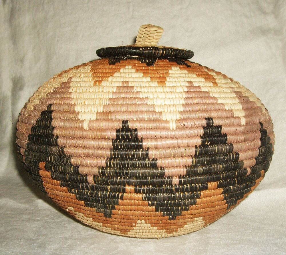 African Baskets With Lids: African Zulu Ukhamba Basket New Fair Trade Africa Beer Lid