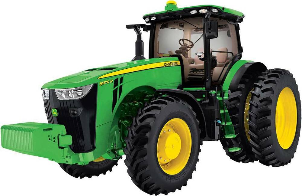 John Deere Tractor Decal Removable Wall Sticker Home Decor