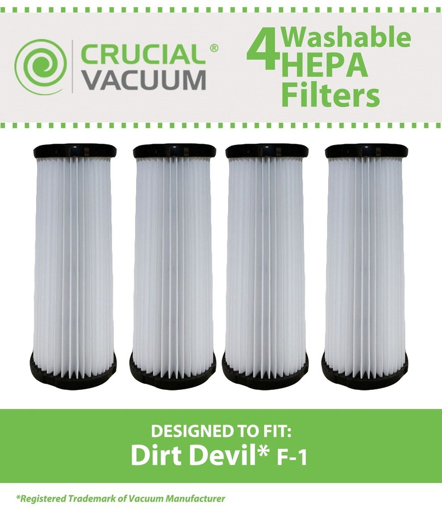 4 dirt devil f1 f 1 washable filter 3 jc0280 000 2 jc0280 000 3jc0280000 ebay. Black Bedroom Furniture Sets. Home Design Ideas