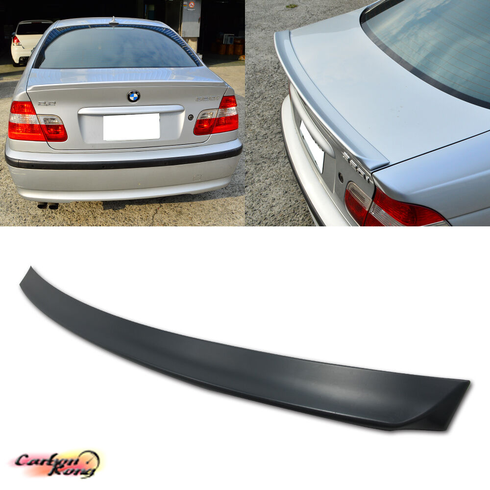 BMW E46 3-Series Rear 4D Sedan Boot Trunk Spoiler Wing 99
